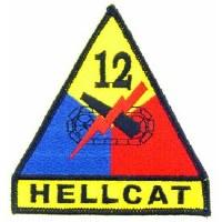 Ptch - ARMY,012TH.ARM.DIV.