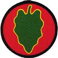 Ptch - ARMY,024TH.INF.DIV.