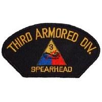 Ptch - ARMY,HAT,003RD ARM