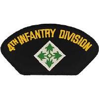 Ptch - ARMY,HAT,004TH INF