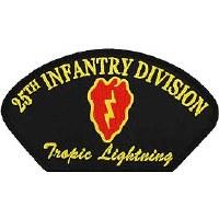 Ptch - ARMY,HAT,025TH INF DIV