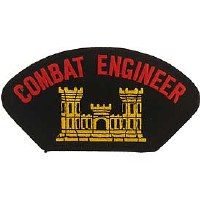 Ptch - ARMY,HAT,COMBAT.ENG