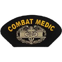 Ptch - ARMY,HAT,COMBAT MED