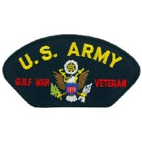 Ptch - ARMY,HAT,GULF,VET