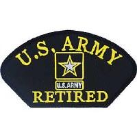 Ptch - ARMY,HAT,RETIRED