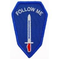 Ptch - ARMY,INFANTRY,SCHL.blue