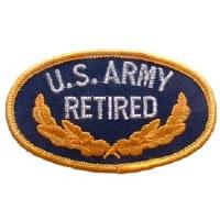 Ptch - ARMY,OVAL,RETIRED