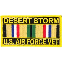 Ptch - DEST.STORM,USAF.SVC.RIB