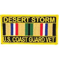 Ptch - DEST.STORM,USCG.SVC.RIB