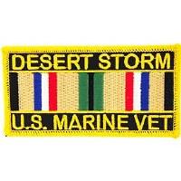 Ptch - DEST.STORM,USMC.SVC.RIB