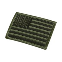 Ptch - Flag OD Left Arm Velcro