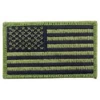 Ptch - FLAG USA,RECT. SUB Left