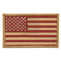 Ptch - FLAG USA,RECT.DEST.