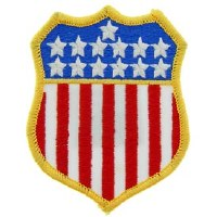 Ptch - FLAG,USA,SHIELD