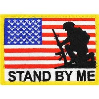 Ptch - FLAG,USA,STAND BY M