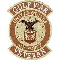 Ptch - GULF.WAR,VET,USAF.DST