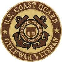 Ptch - GULF WAR,VET,USCG.DST