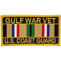 Ptch - GULF.WAR,VET,USCG.SVC.
