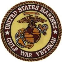 Ptch - GULF.WAR,VET,USMC.DST