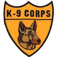 Ptch - MILT,K-9 CORPS