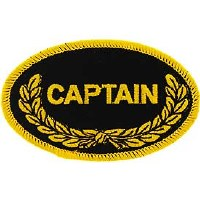 Ptch - OVAL,CAPTAIN