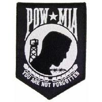 Ptch - POW*MIA (BLACK) 4.25 in