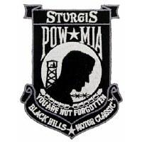 Ptch - POW*MIA,STURGIS,BLK