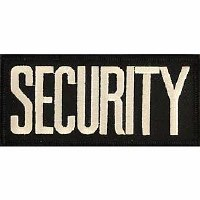 Ptch - SECURITY.TAB.(WHT/BLK)
