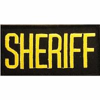 Ptch - SHERIFF.TAB.(GLD/BLK)