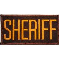 Ptch - SHERIFF.TAB.(GLD/BRN)