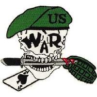 Ptch - SKULL,WAR,BERET