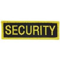 Ptch - TAB,SECURITY(BLK/GLD)