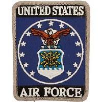 Ptch - USAF LOGO,RECT