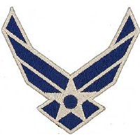 Ptch - USAF LOGO,WINGS