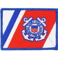 Ptch - USCG,FLAG,RWB