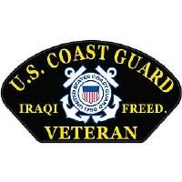 Ptch - USCG,HAT,IRAQI FREE