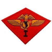 Ptch - USMC,01ST AIRWING Red