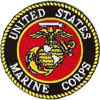 Ptch - USMC LOGO RND