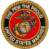 Ptch - USMC LOGO,The Few the