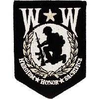 Ptch - WOUNDED,WARRIORSHIELD