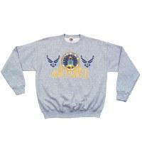 Sweatshirt - AF Wings Crew  Sm