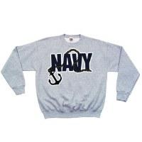 Sweatshirt - Navy/Anch Crew Sm