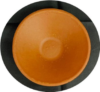 RED CLAY DIYA/DIWA EXTRALARGE 1PC