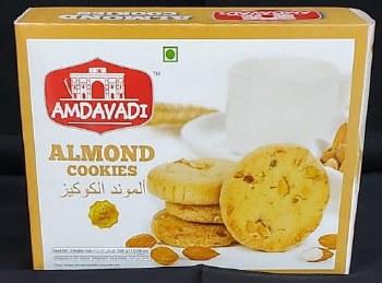 Amdavadi Almond Cookies 300gm