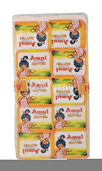 AMUL SALTED BUTTER BLISTER (10PC PACK) 100GM