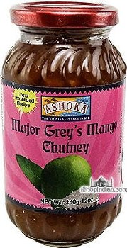 ASHOKA MAJOR GREY MANGO CHUTNEY 340GM