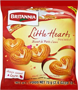 Britania Little Heart 75 G