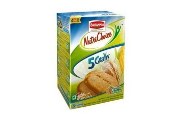 BRITANNIA NUTRICHOICE 5 GRAIN 250 GM