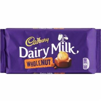Dairy Milk Whole Nut 200g