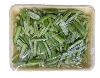 Fresh Cut Tindora Tray